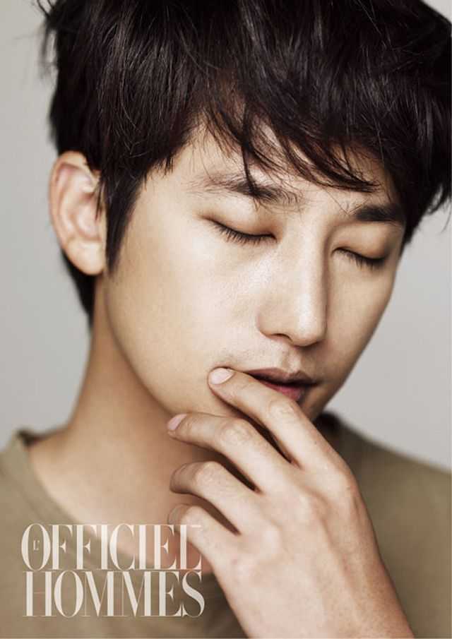 Park Shi Hoo Goes Shirtless For L Officiel Hommes Couch