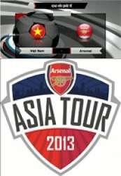 Giao Hữu Quốc Tế Việt Nam vs Arsenal