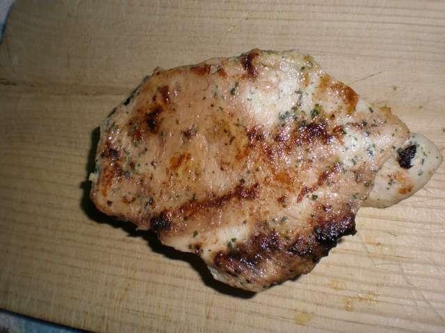 Pechuga de pollo adobada