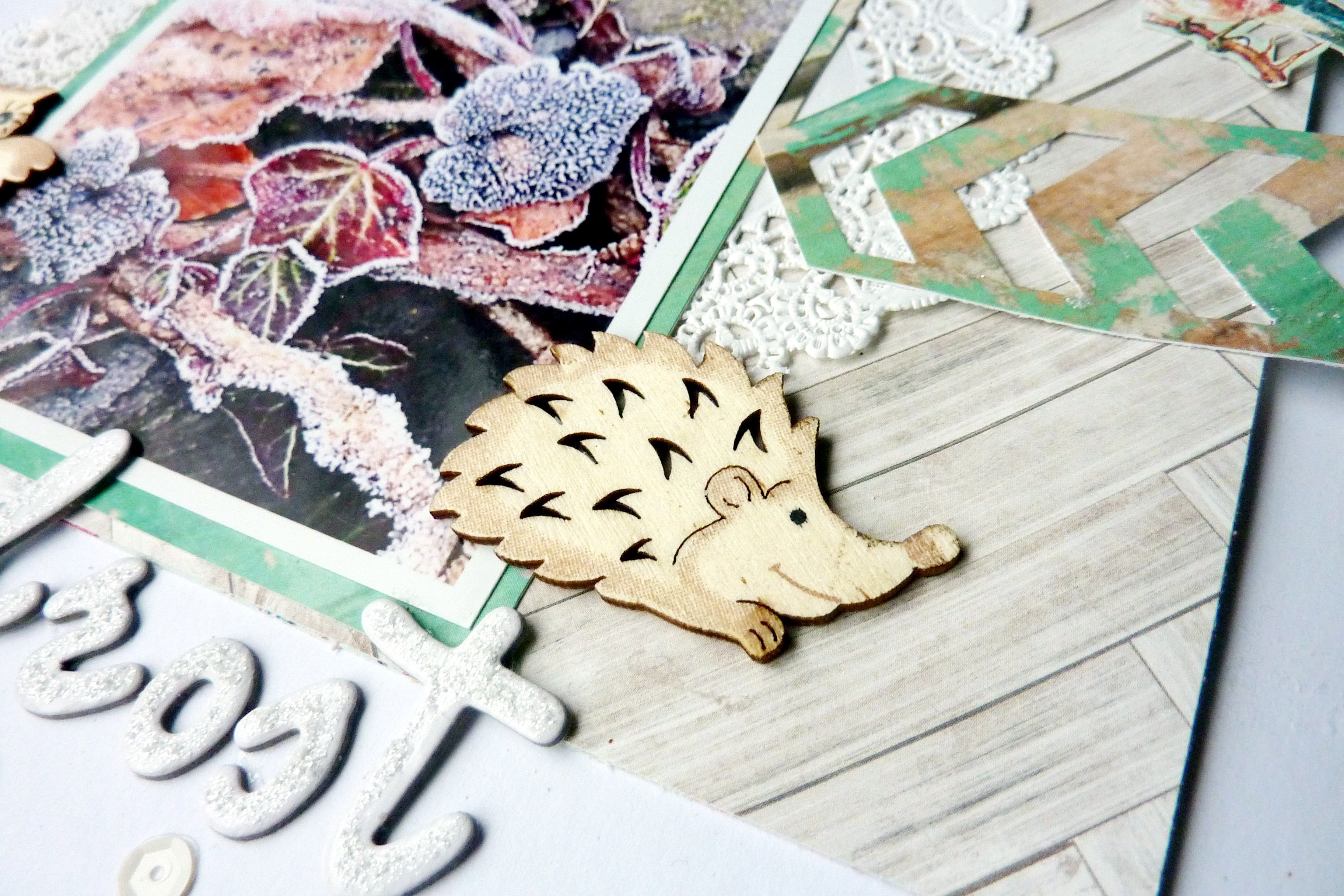 American Crafts Wood Veneer Birds