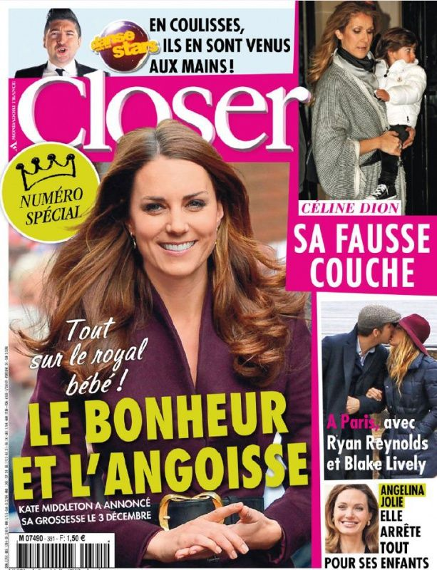 Closer N°391 du 8 au 14 Décembre 2012
