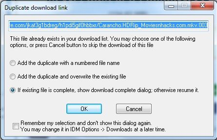 How To Resume Download in IDM