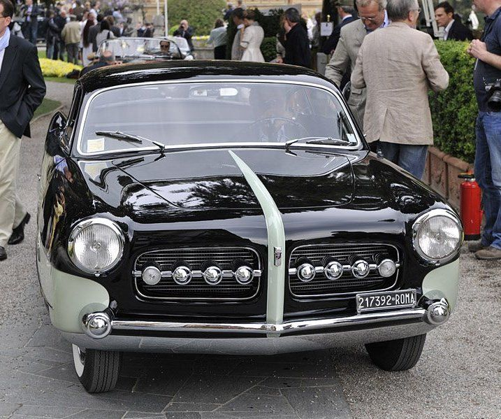 POWER CARS: Fiat 1400 B Junior Coupe By Ghia