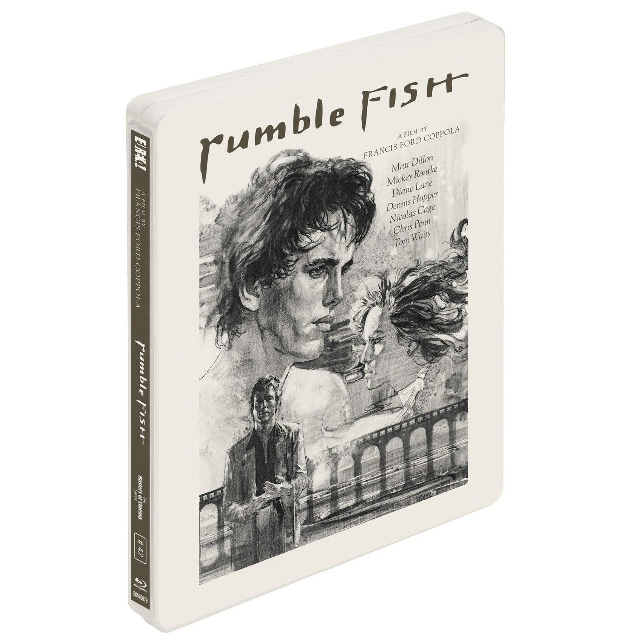 Rumble fish coppola august 27th uk for Rumble fish summary