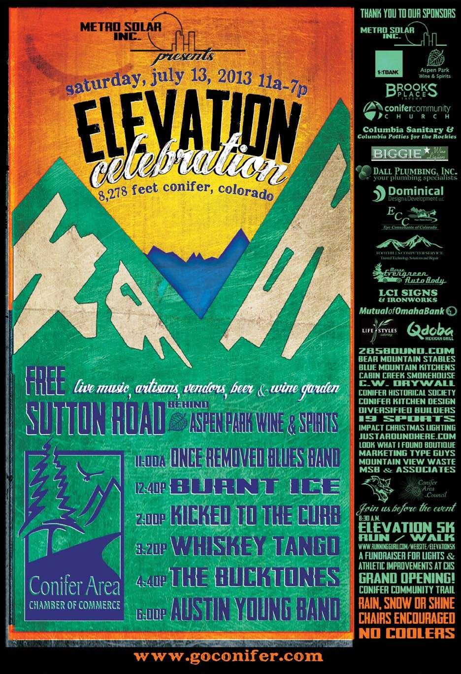 Elevation Celebration Poster