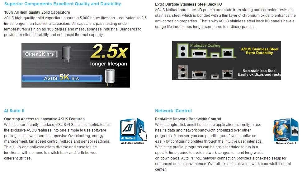 Asus A55M-A/USB3 (FM2 - DDR3 1866) DVI/HDMI/VGA -
