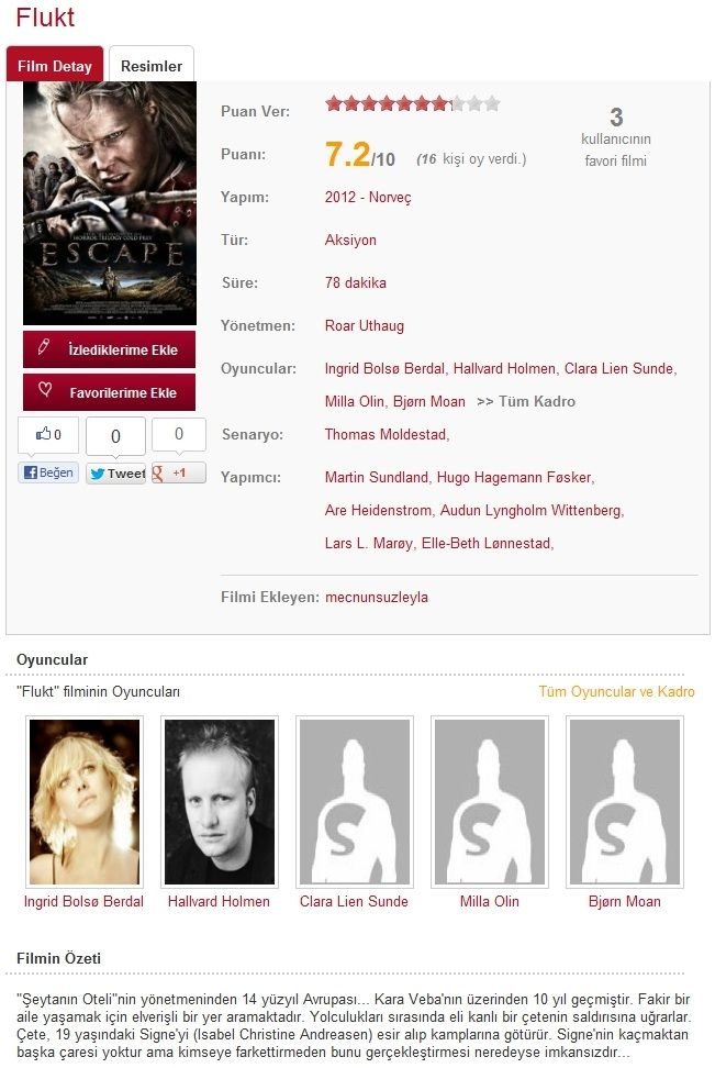 Kaçış - 2012 BRRip XviD - Türkçe Dublaj Tek Link indir