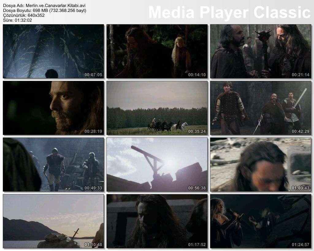 Merlin ve Canavarlar Kitabı - 2009 BRRip XviD - Türkçe Dublaj Tek Link indir